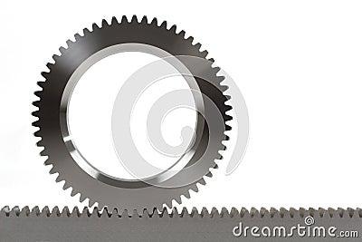 Cogwheel and cograil