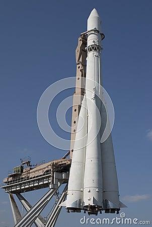 Cohete de espacio
