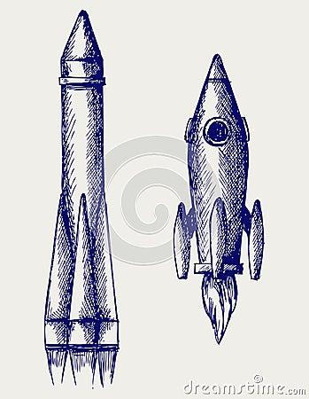 Cohete retro
