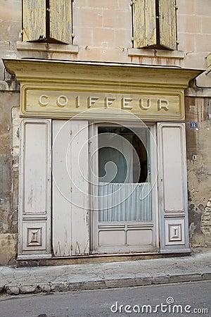Coiffeur Shop Frontage
