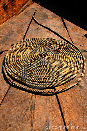 Free Coiled Rope Royalty Free Stock Photography - 10366057