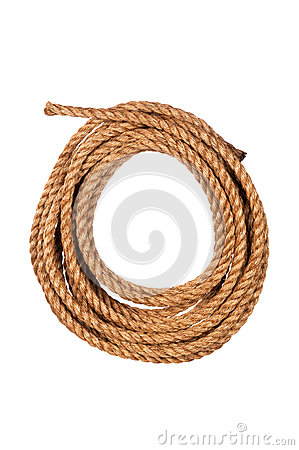 Free Coiled Rope Stock Photography - 26316412