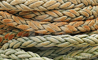 Coiled rope detail