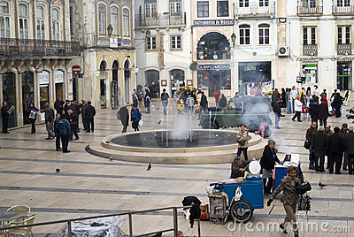 Coimbra, Portugal Editorial Stock Photo