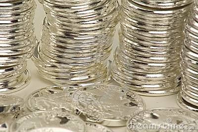 Coin stacked