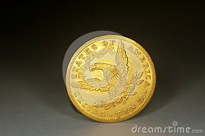 gold coins black background - photo #45