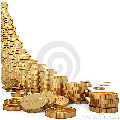 Free Coins Royalty Free Stock Images - 17398869