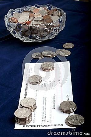 Coins for Deposit
