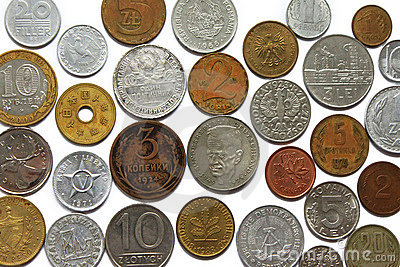 Coins from different countries
