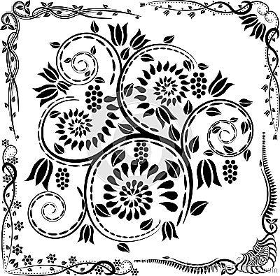 Coins et ornements
