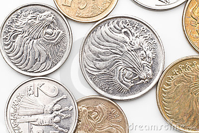 Coins of Ethiopian Currency