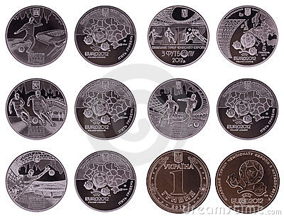 Coins for EURO 2012