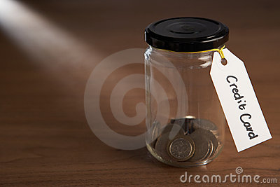 Coins in a jam jar