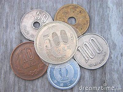 Coins japan