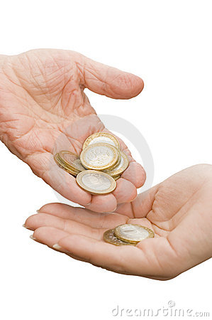 Coins from old hands