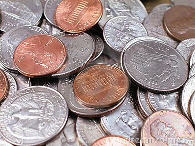 Coins-With Pennies