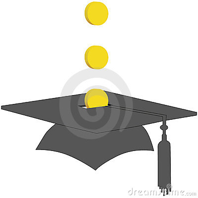 Coins Save in College Graduation Savings Fund Bank