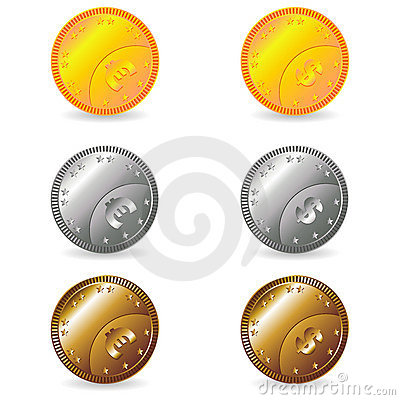 Coins set