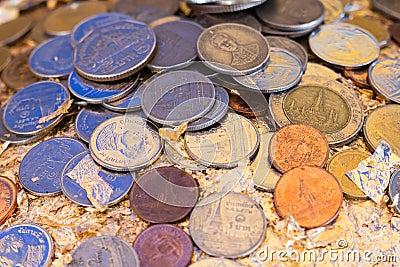 Coins in Thailand