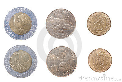 Coins to Finland