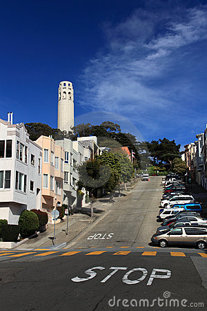 Free  Coit Tower,San Francisco Royalty Free Stock Photography - 15104137