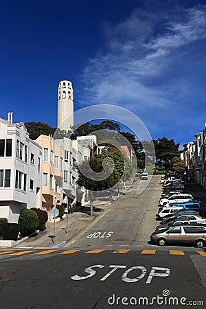 Coit Tower,San Francisco