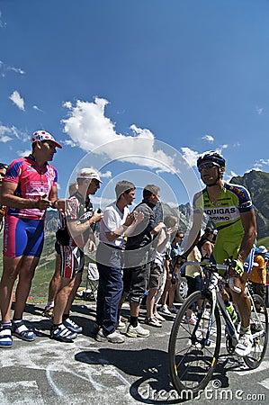 Col du Tourmalet Editorial Stock Image