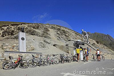 Col du Tourmalet Editorial Stock Image