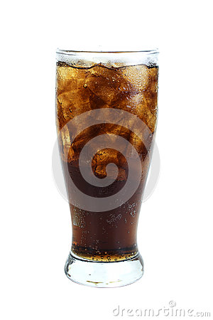 Free Cola In Glass Royalty Free Stock Photos - 82132318