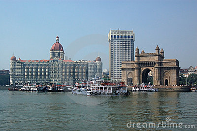 Colaba, Mumbai from the sea
