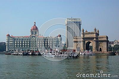Colaba, Mumbai vom Meer