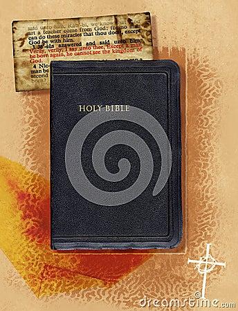 Colagem da Bíblia