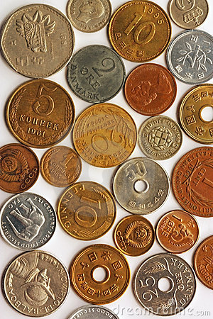 Colagem da moeda