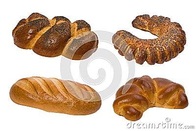 Colagem do pão