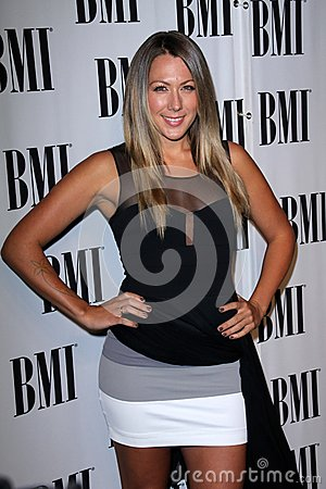 Colbie Caillat at the BMI Pop Awards, Beverly Wilshire Hotel, Beverly Hills, CA 05-15-12 Editorial Stock Image