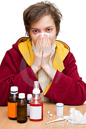 Free Cold And Flu Season Stock Image - 4230451