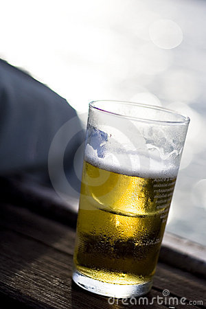 Cold Beer on Window Sill