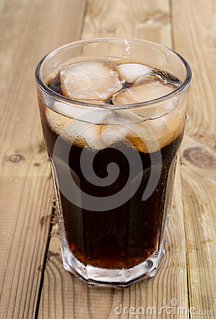 Cold Beverage on wood