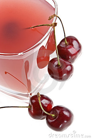 Cold cherry jelly