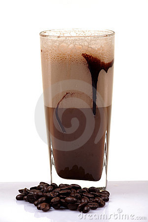 Cold chocolate drink