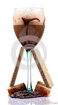 Cold coffee treat