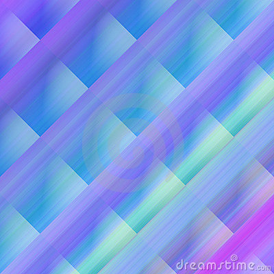 Cold Colored Abstract