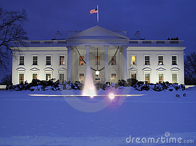 Cold December Day at the White House