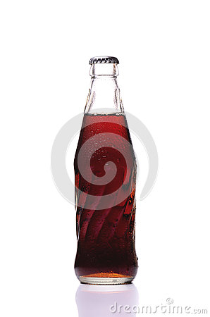 Free Cold Glass Of Coke Bottle Royalty Free Stock Photography - 68450247