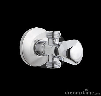 Cold or hot water faucet control