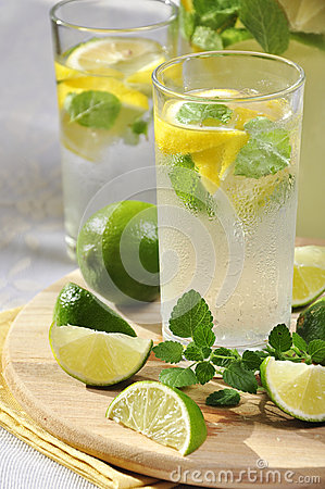Cold Lemonade Stock Image - Image: 27042011