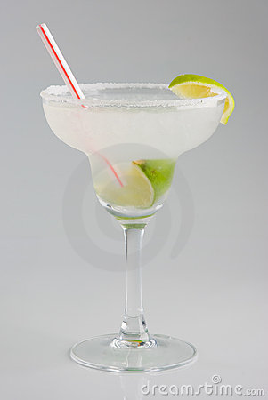 Cold margarita cocktail