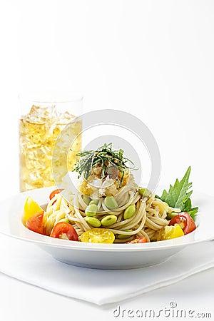 Free Cold Spaghetti Stock Photography - 32512022