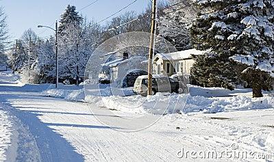 Cold in Suburbia