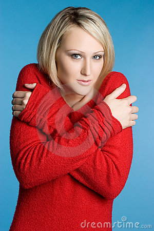 Cold Sweater Woman